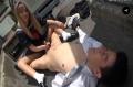 スケバンJKが教師のM性を見抜き寸止め顔騎手コキ調教