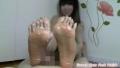 器用に動く足指コキが凄い!