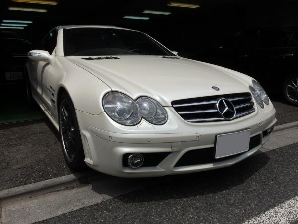 ベンツSL65 AMG