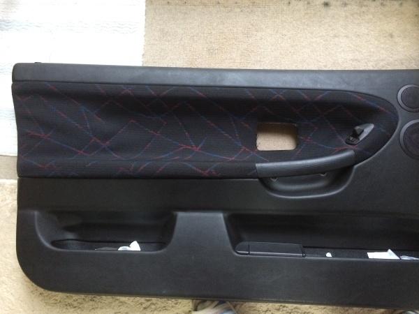 天井&ドア内張り張替え BMW E36