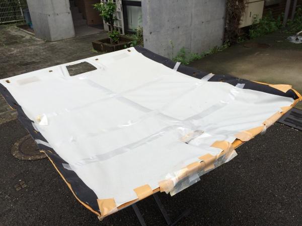 天井張替え/M・ベンツEクラス W210