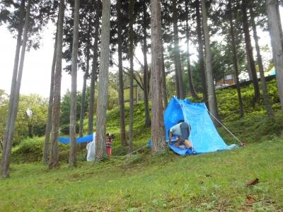 M_studiomimosaキャンプ秘密基地