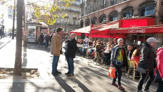 パリ同時テロ後、パリの様子