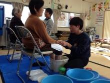 11.28上野台仮設足湯