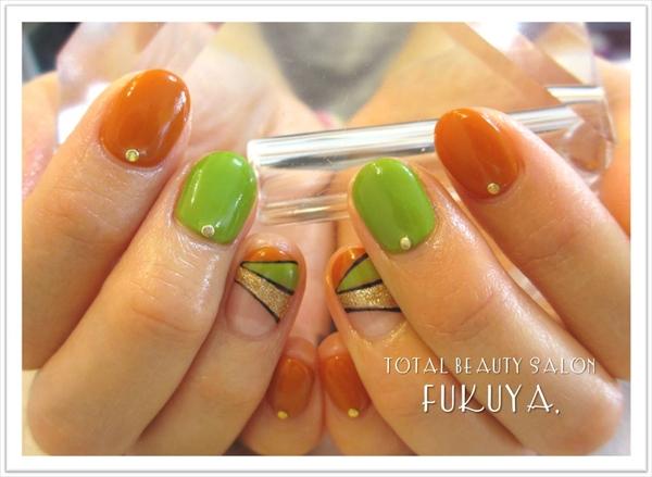秋キャンアレンジ♪ミステリアスモードフレンチ(´・ω・`)