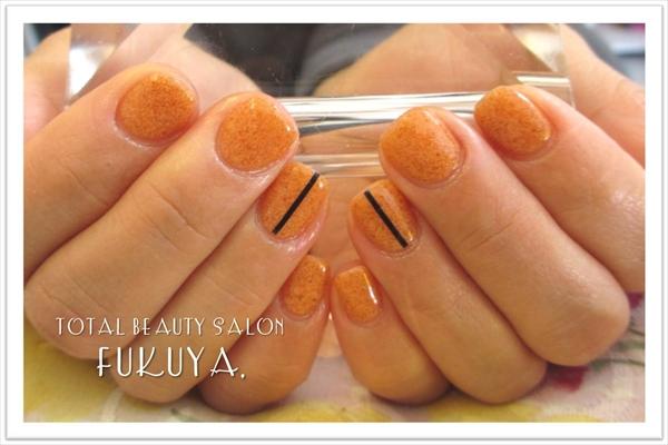 サンドオレンジでツブツブ~(^_-)-☆