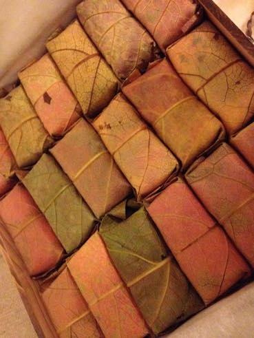 柿の葉寿司紅葉