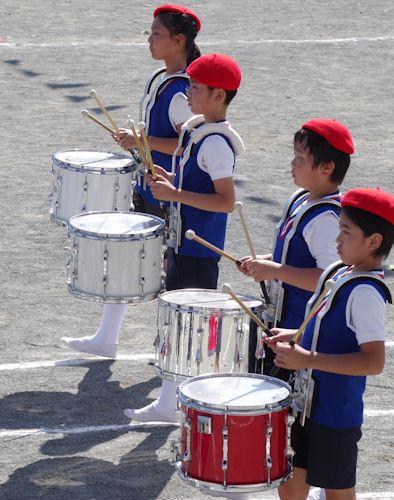 運動会2015 鼓笛