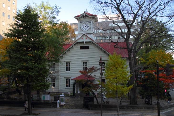 15/11/4 Sapporo Clock Tower (14:10)