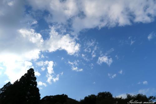 台風明けの空3