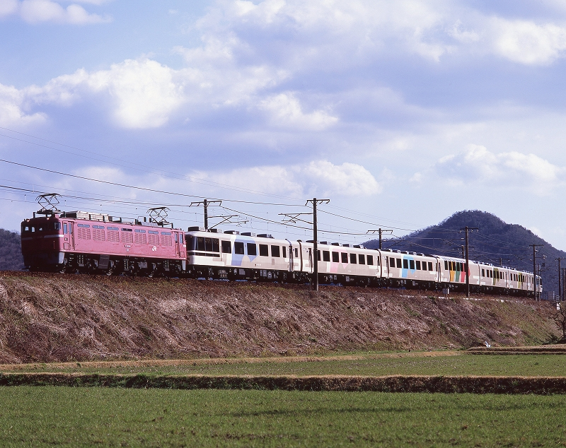 三石~上郡 EF81