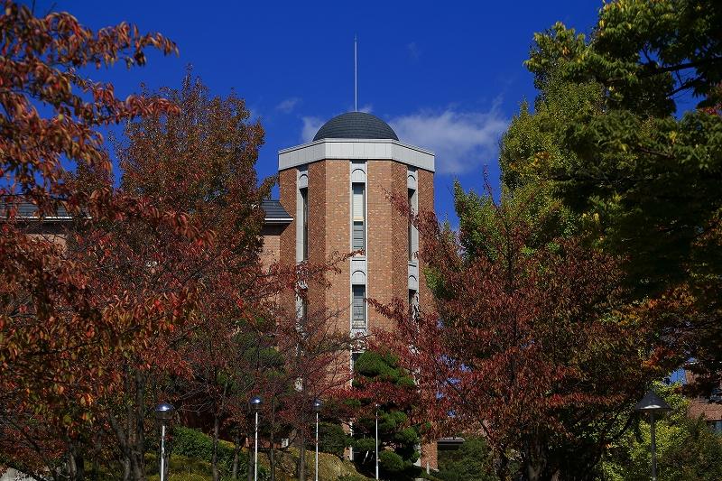 千里山キャンパス in Autumn RVP100