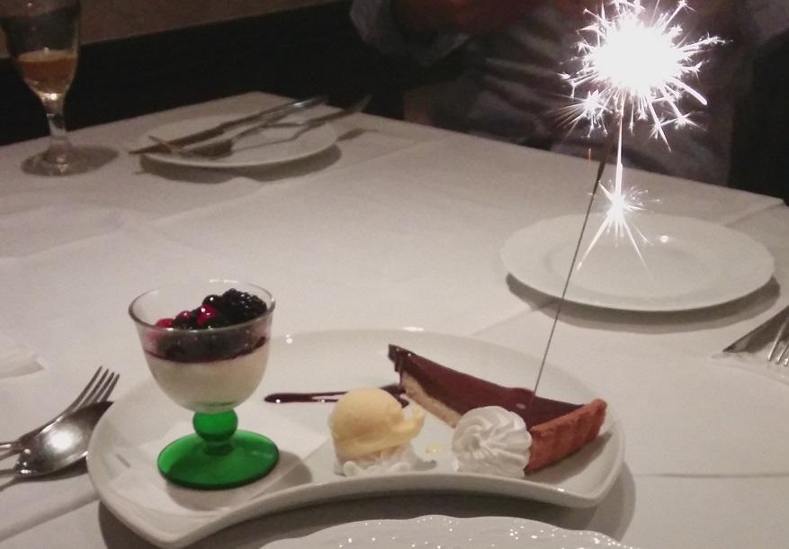 20150929お祝いデザート