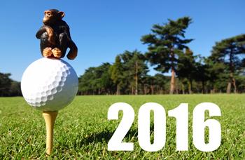 2016 ゴルフ年賀状