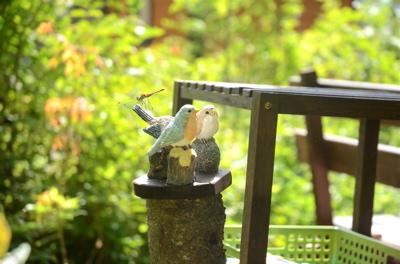 小鳥のテーブル2
