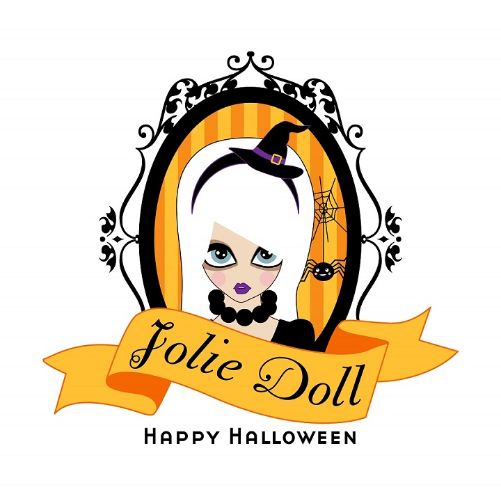 Jolie Doll Halloween logo version JPEG