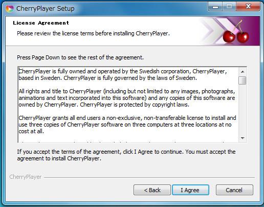 動画再生ソフトCherryPlayer0-612