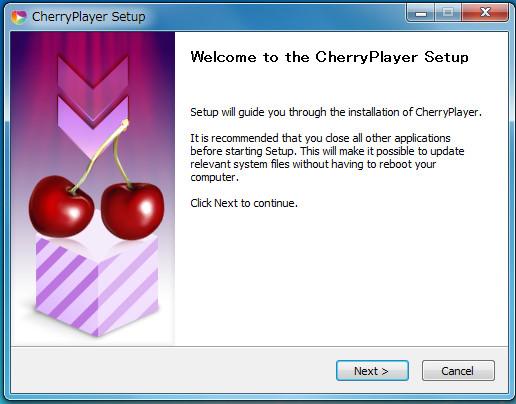 動画再生ソフトCherryPlayer3-50-803