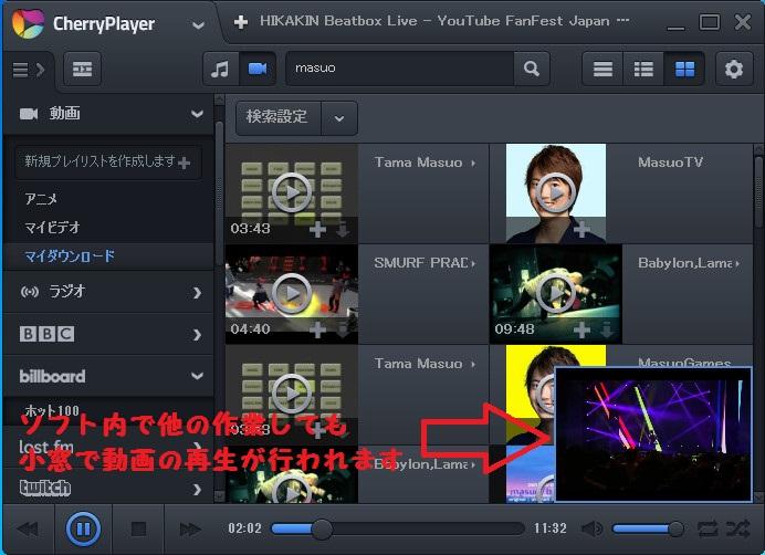 動画再生ソフトCherryPlayer-625