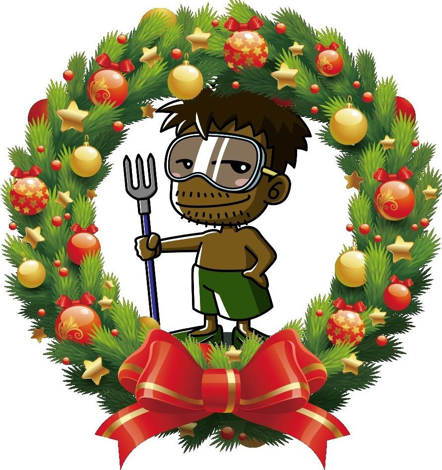 ジプシー小僧クリスマスリース