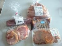 狐巣 肉 朝餉 パン