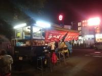 屋台らーめん GSX1300R ZZR 麺 夕餉