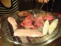 夕餉 外食 お肉
