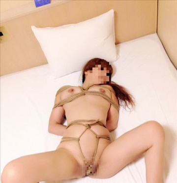 サンフレッシュ琴梨亀甲縛り (3)