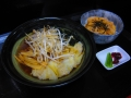 ワンタン麺・ミニ生姜焼き