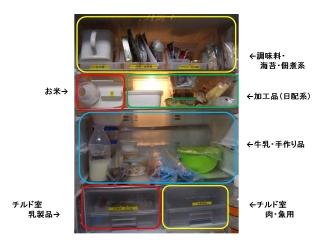 ちはるさん家 冷蔵庫 コメント入りJPEG