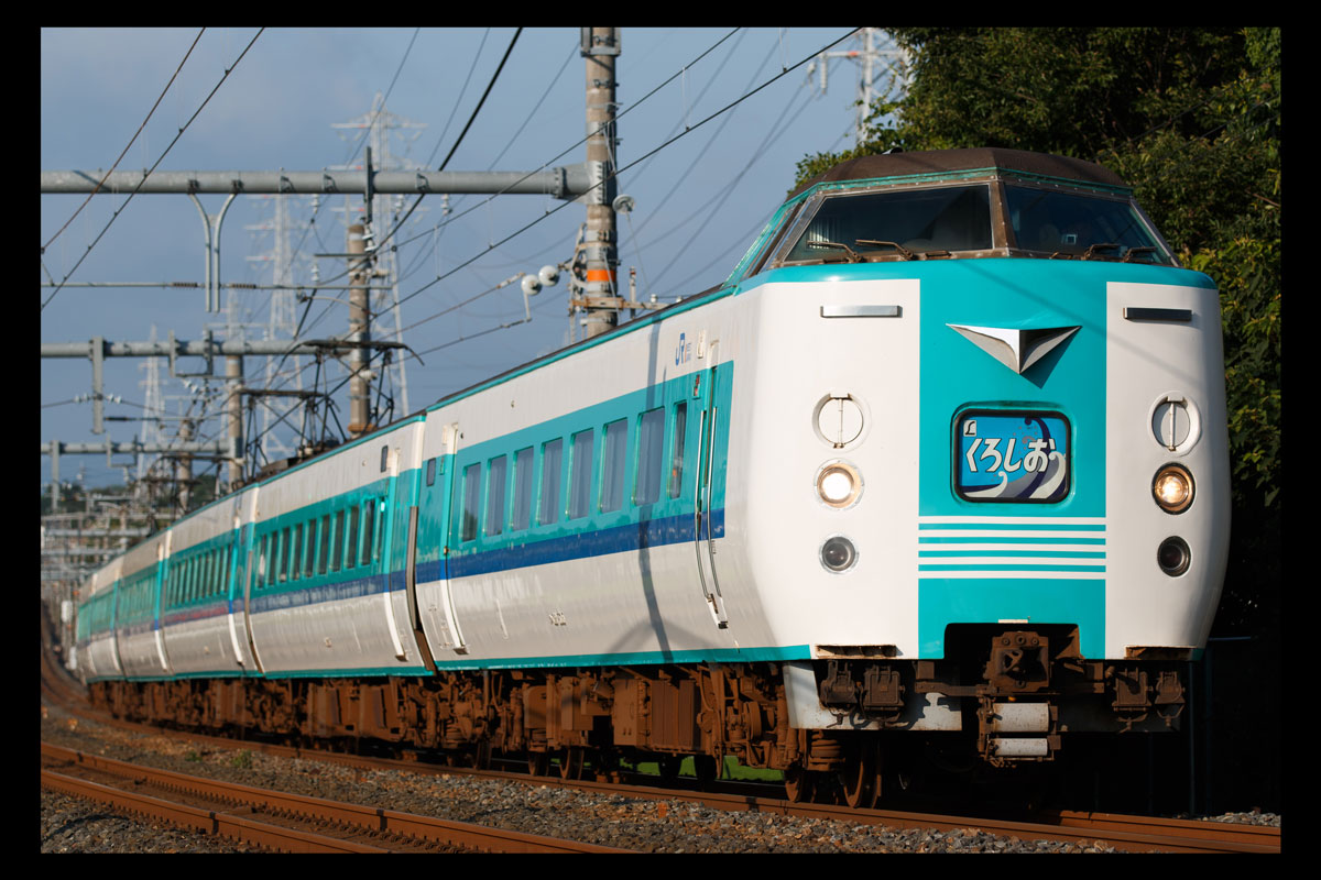 2054M くろしお4号 381系HD605編成