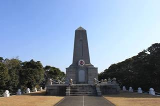 「エルトゥールル号慰霊碑」