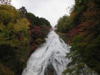 竜頭の滝の紅葉1