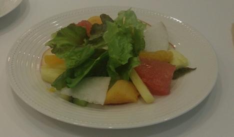 20151023果物屋のサラダ