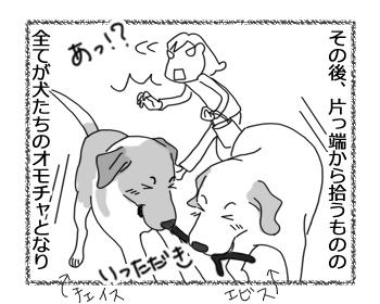 羊の国のラブラドール絵日記シニア!!「向きな作業」3