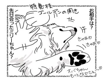 羊の国のラブラドール絵日記シニア!!「チェイスの恋のお相手」2