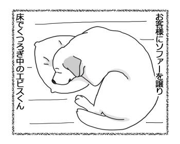 羊の国のラブラドール絵日記シニア!!「飼い主めがね」1