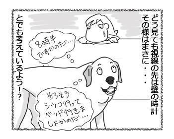 羊の国のラブラドール絵日記シニア!!「いま何時?」3