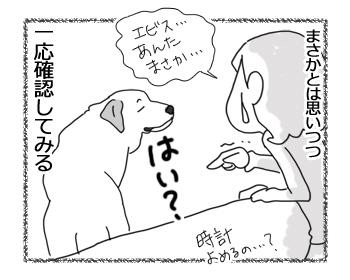 羊の国のラブラドール絵日記シニア!!「いま何時?」4