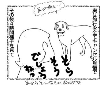 羊の国のラブラドール絵日記シニア!!「旅行とキャンセルの間で」3