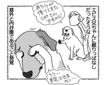 羊の国のラブラドール絵日記シニア!!「借りてきたチェイス」4