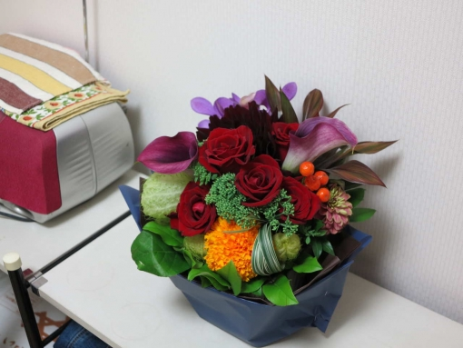 記念のお花
