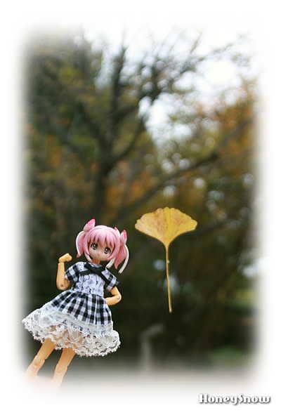 【おでかけ神姫】 銀杏と武装神姫