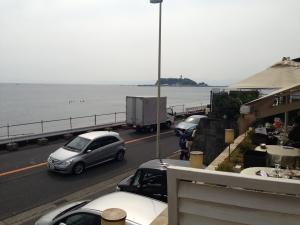 七里ガ浜アマルの景色