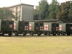 自衛隊救急車