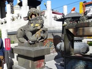 中国風の狛犬