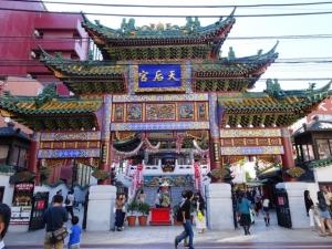 横浜媽祖廟の門