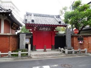 勝専寺の赤門