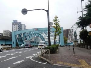 現在の千住大橋