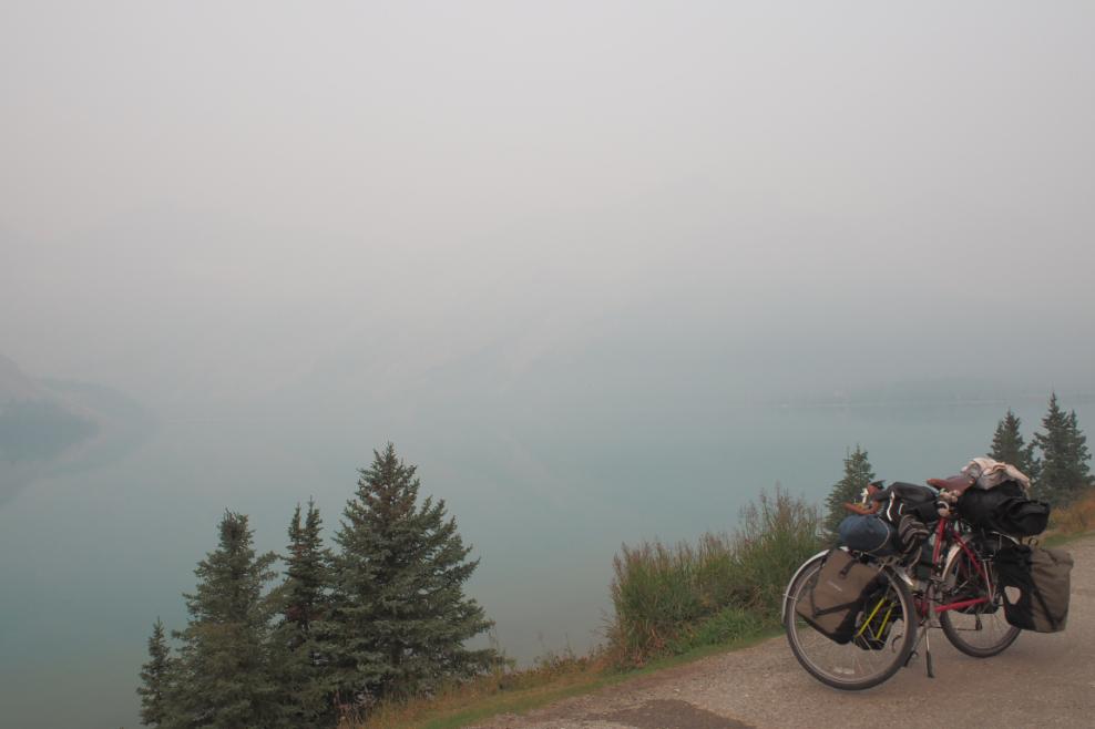 20150826アイスフィールドパークウェイ自転車2